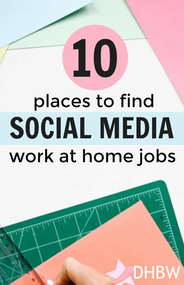 If you spend lots of time on social media sites like Facebook, Twitter, and Pinterest, this post can help you find several social media jobs online.