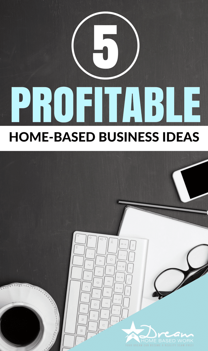 Have you thought about starting your own home business? Here are 5 of the most profitable home-based business ideas of 2017.