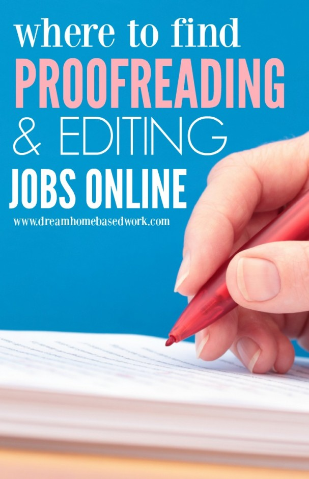 If you have a passion for words and would love to turn this passion into money, the following online proofreading and editing jobs may be ideal for you.