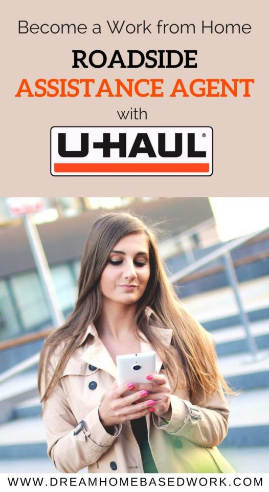 Become A Work from Home Roadside Assistance Agent with Uhaul. More details about the company and how to apply online.