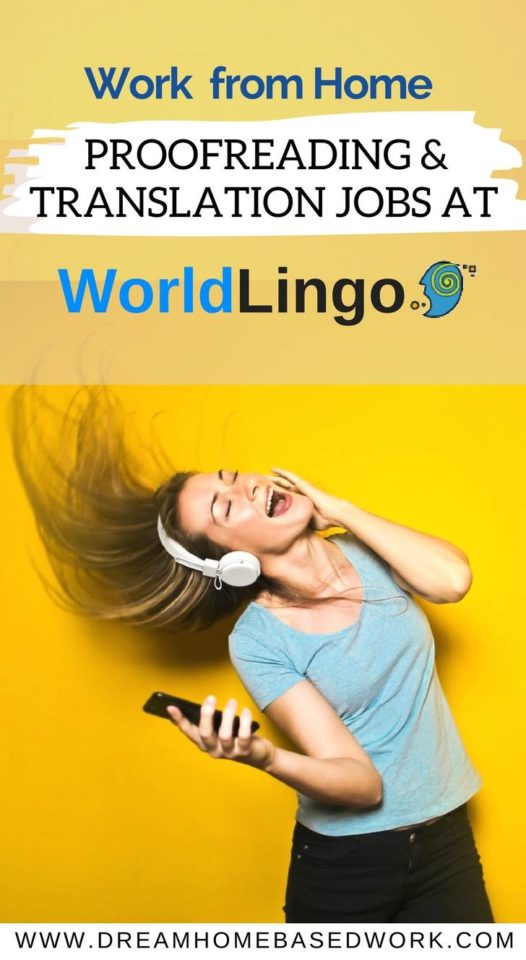 World Lingo is a famous company with legitimate online freelance positions tor Translators and Proofreaders. Learn more about World Lingo and how to apply online.