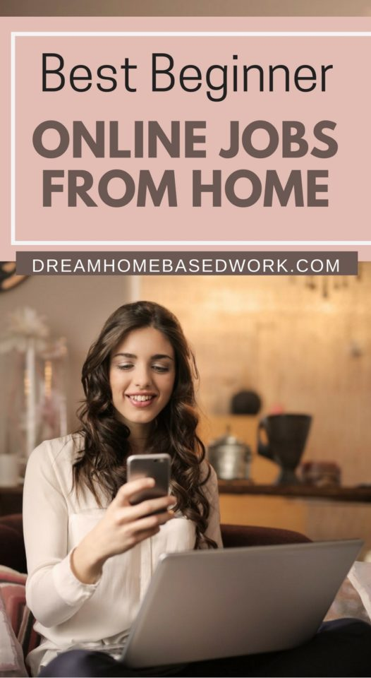 Want to work from home but don't have much experience? Here are some of the best online jobs for beginners to try. These sites will let you work from home, scam-free!
