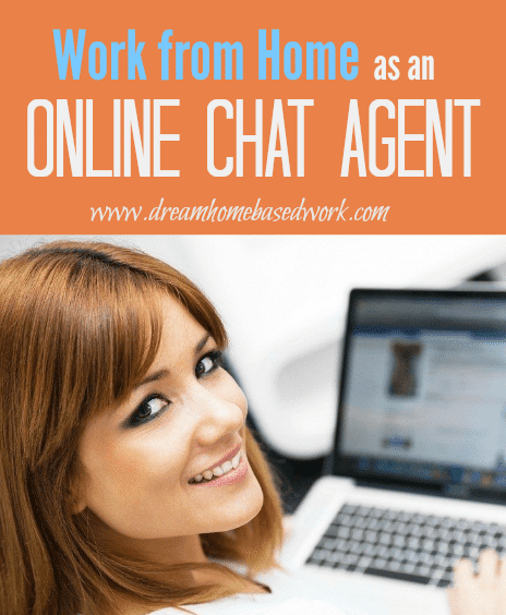 work at home chat agents