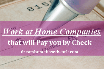 work at home companies: