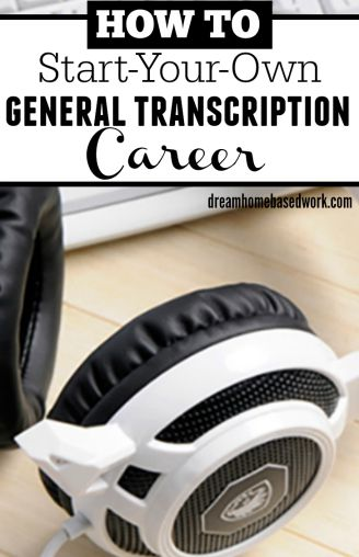 Have you ever wondered how to get your first transcription job? Learn you can start a general transcription career working from home.