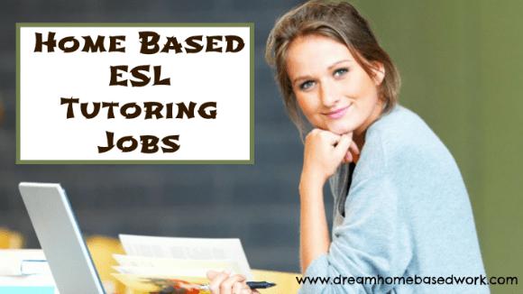 Online : ESL Tutoring Jobs | Dream Home Based Work - Legitimate Work ...