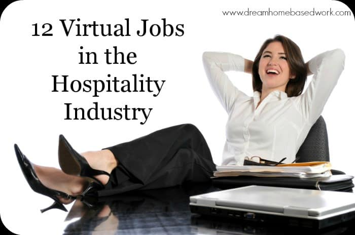 12 virtual jobs in the hospitality field. Black Bedroom Furniture Sets. Home Design Ideas