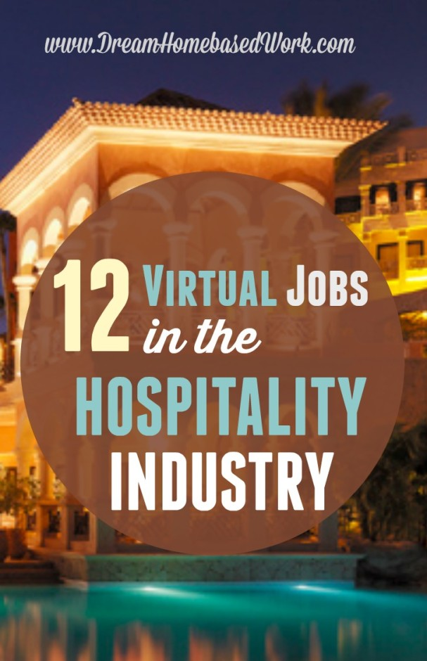 12 Virtual Jobs in the Hospitality Field