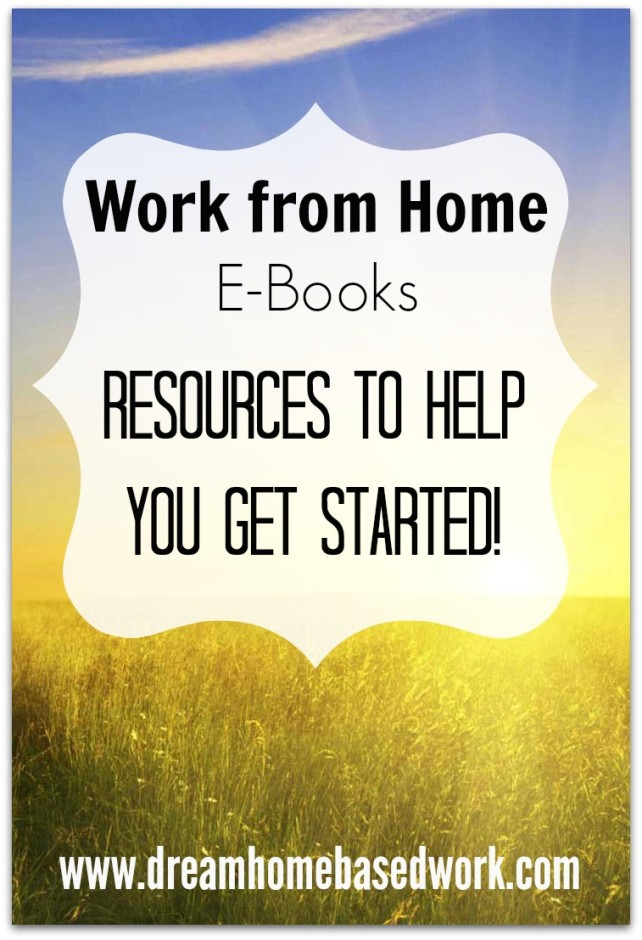 If you're tired of online scams and you're ready to earn a real income online, there are many work from home ebooks that will help you get started!