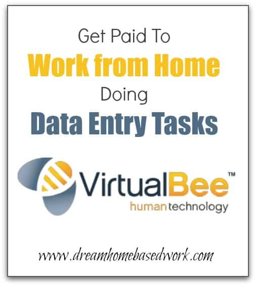 Virtual Bee Review: Get Paid To Work from Home Doing data Entry Tasks