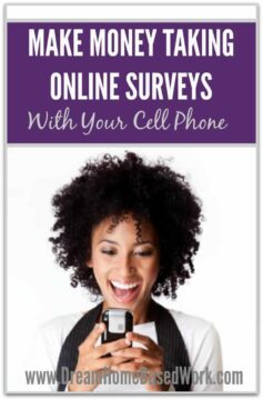 "extra money ""on the go"" by taking online surveys with your cell phone ..."