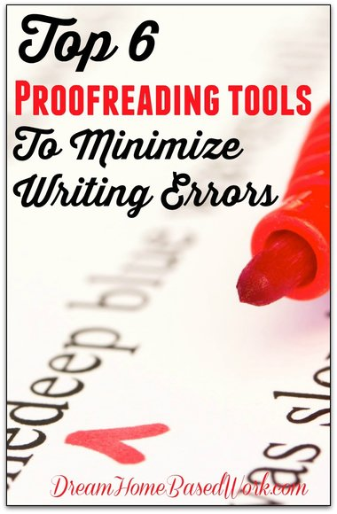 Proofreading is one of the biggest sources of income for many professionals and freelancers. That's why I've shared 6 awesome proofreading tools to minimize writing errors.