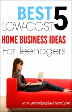 best 5 low cost home business ideas for teenagers
