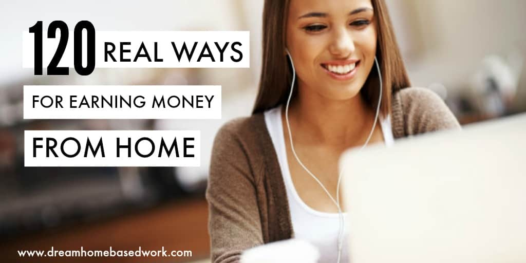 120 Real Ways For Earning Money Online