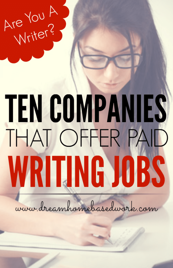 Are You a Writer? Check out 10 Sites That Offer Paid Writing Jobs