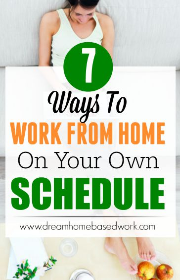 If you have been considering work from home positions that give you the freedom to work whenever you want, then the following jobs will be worth a look.
