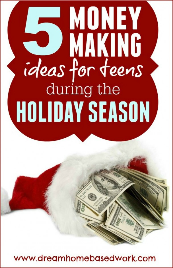 It is that time of the year when we are all, especially teenagers, in need of extra cash for travel, gifts or just for spending money. If you start now, you can easily pile up little extra cash for the holiday.