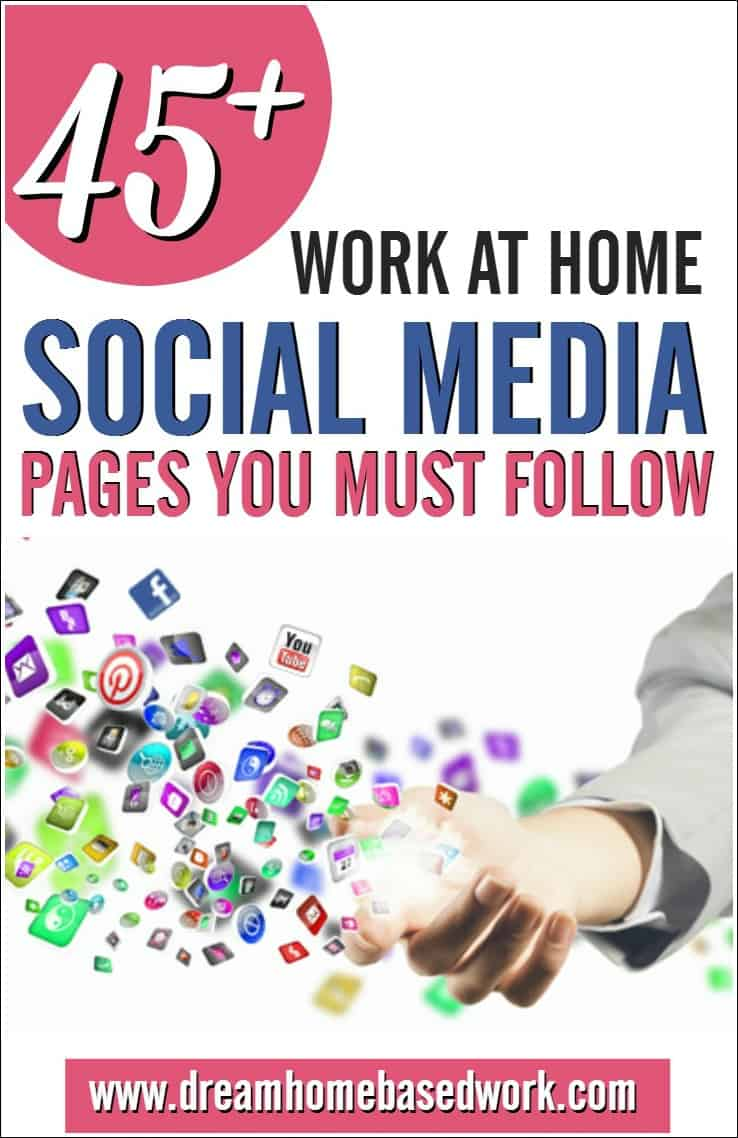 45+ Work at Home Social Media Profiles You Must Follow