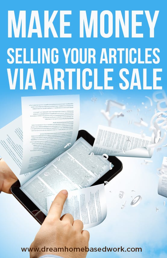 Sell article writing services online