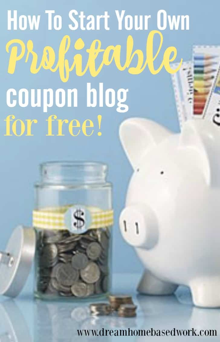 Lots of people love free online coupons. By starting a free coupon blog, you can add the newest coupons and make money when your readers print them. Great for stay at home moms!