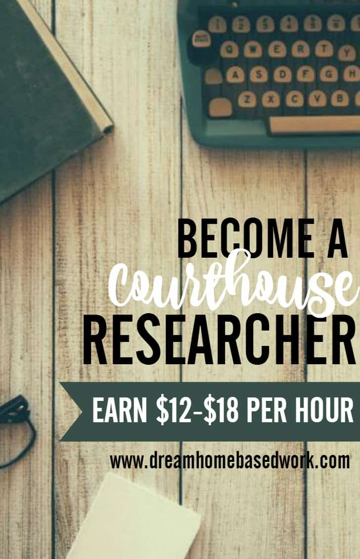 Have fast and accurate typing skills and attention to details? You can work as a courthouse researcher with Deed Collector.