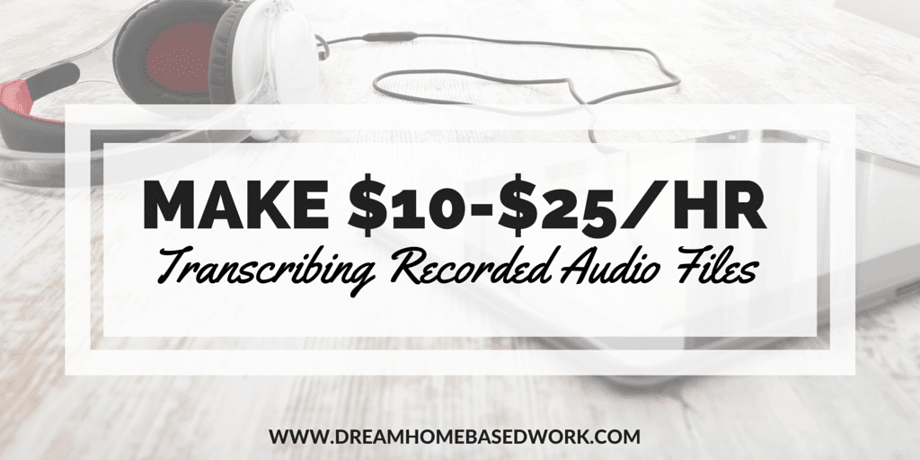 3 Play Media: Make $10-$30/hr Transcribing Recorded Audio Files