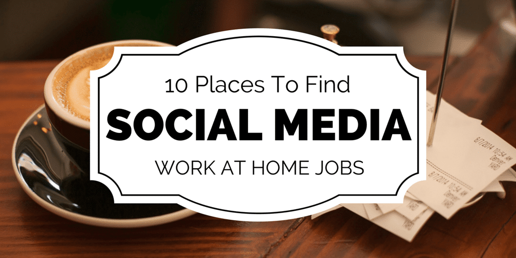 10 Places To Find Social Media Jobs Online
