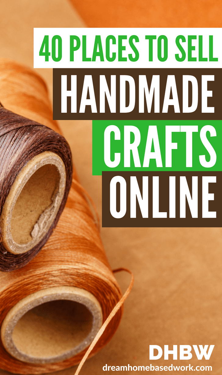 sell your handmade crafts and art online without breaking