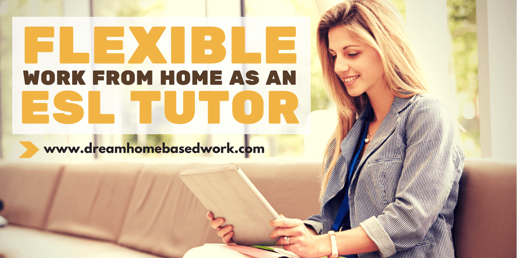 Flexible Work from Home Online Tutor Jobs with Golden Voice English