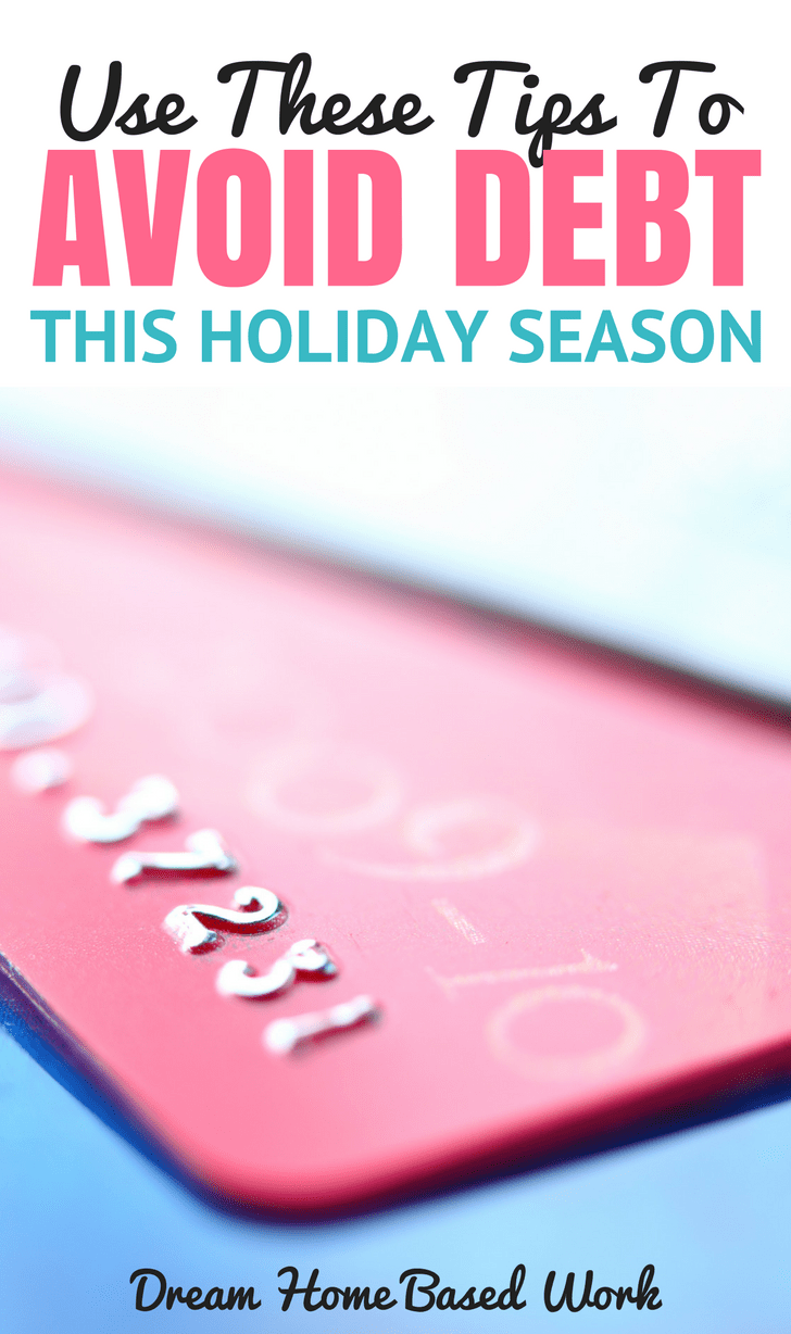 These 3 steps will allow you to avoid debt and enjoy the holidays without added financial stress so you can start the new year off on the right foot.