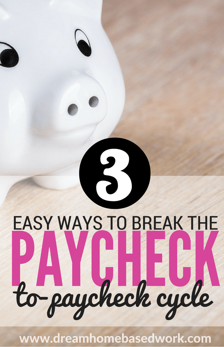 Living paycheck-to-paycheck is common, but it's not an enjoyable way to manage your finances. Learn better ways to budget and save money the right way.