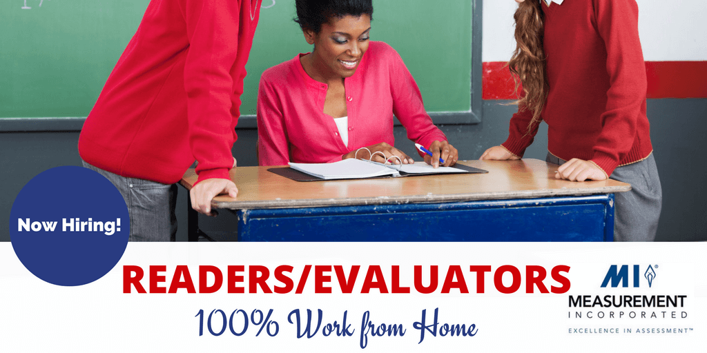Measurement Inc. Hiring Evaluators To Work from Home Grading Tests