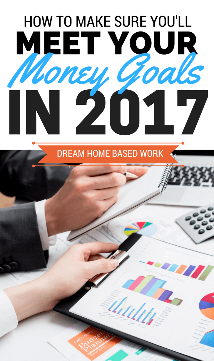 Consider these three tips when setting money goals to pay off debt, save more, earn more, stop living paycheck to paycheck or start building wealth.