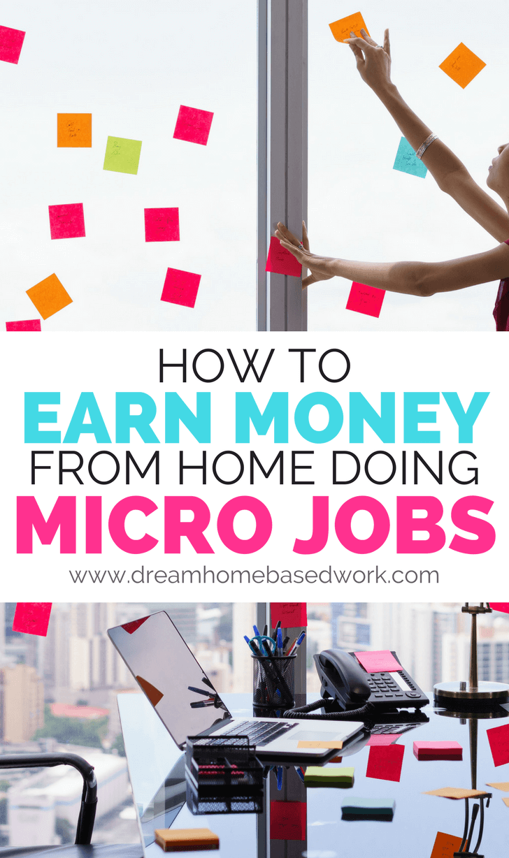 If you like the idea of earning money from home but aren't interested in starting a full on business or demanding side hustle, micro job sites might be best for you.