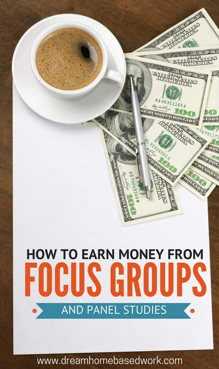 Focus groups and panel studies are often easy money. You basically get paid up to $200 for sharing your honest opinion.