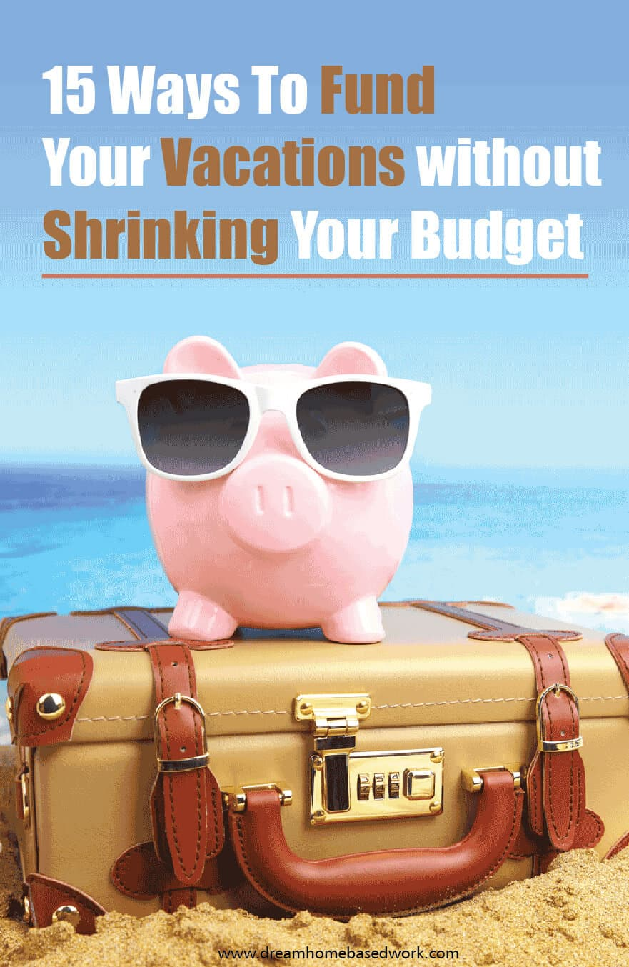 Making extra money is a great way to save money that will allow you to travel and enjoy vacations at a location of your choice