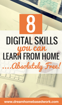 8 Digital Skills You Can Learn From Home And Absolutely For Free
