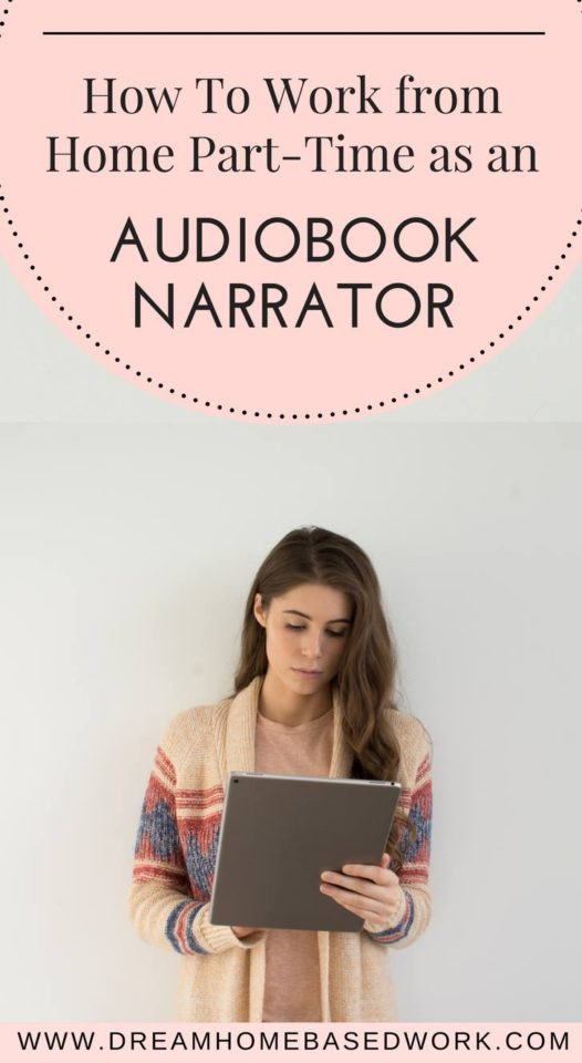 How To Work from Home Part-Time as a Audiobook Narrator